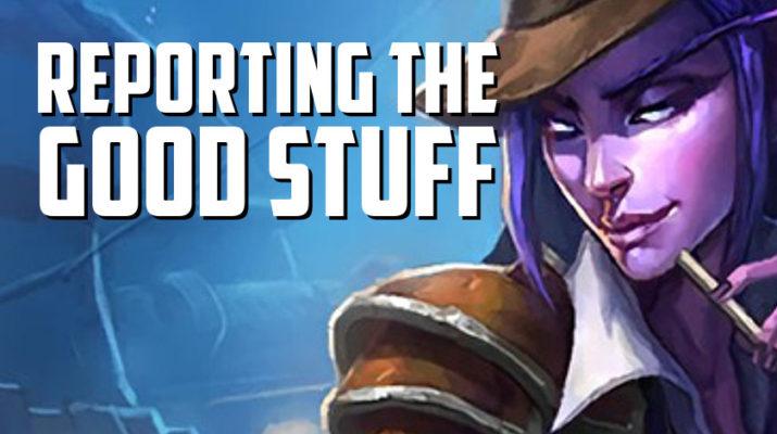 Reporting the Good Stuff