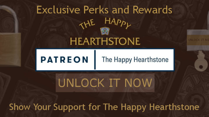 The Happy Hearthstone Patreon