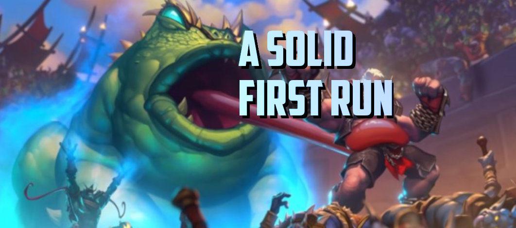 A Solid First Run – Episode 152