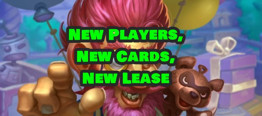 New Players, New Cards, New Lease – Episode 171