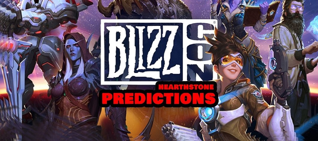 BlizzCon 2019 Hearthstone Predictions – Episode 186