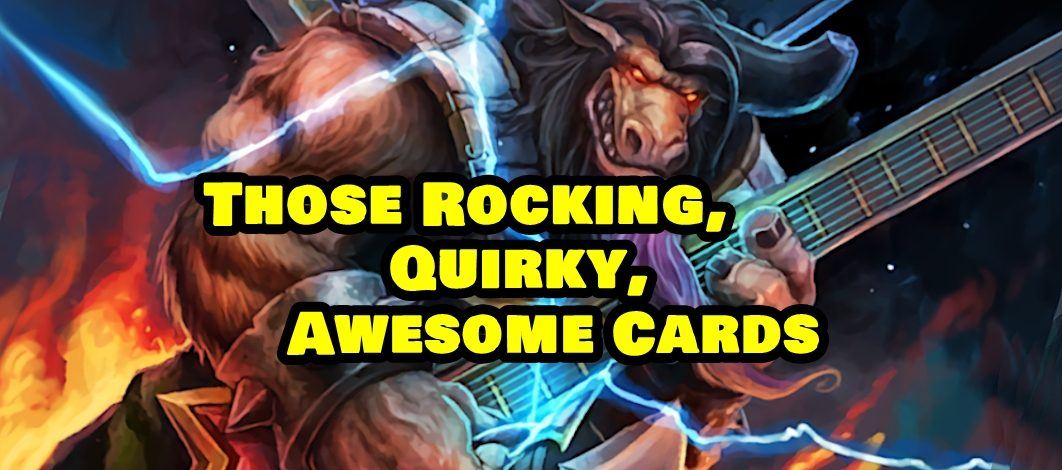 Those Rocking, Quirky, Awesome Cards – Episode 183