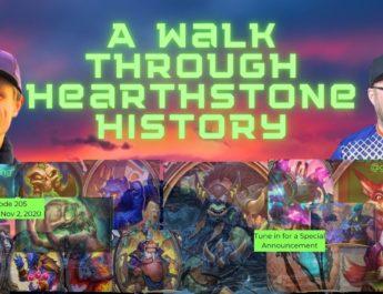 A walk through hearthstone history
