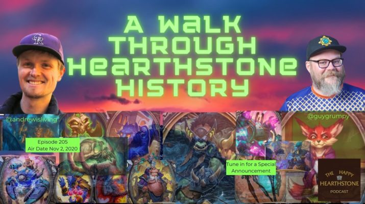 A walk through hearthstone history